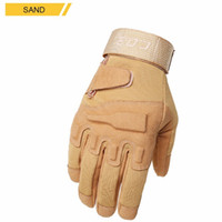 Wholesale Men Outdoor Tactical Gloves Camping Hiking Cycling Outdoor Sports Slip Resistant Breathable Comfortable Finger Gloves Mens Sports Gloves