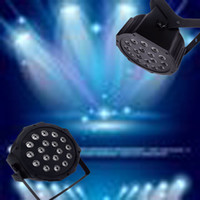Wholesale Par Profile - Freeshipping Hot Sell 18*3W High Power RGB LED Par Light With DMX512 Master-Slave Stand,Megar Par Profile,Stage Light,DJ Equipments
