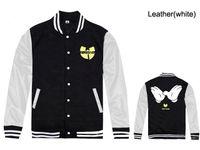 Wholesale Men S Clothing Discounts - 2017 new Wu tang baseball jackets for men fashion hip-hop mens coats free shipping new discount Wu tang clothing hip hop jackets
