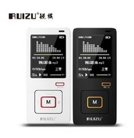 Wholesale Voice Mp3 Download - DHL fast Original RUIZU X10 sports MP3 player hifi lossless music downloads media 8gb With FM,Clock support 64gb TF card