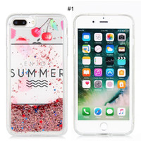 Precio de Iphone rosa bling-Bling Bling Moving Glitter Líquido Arena suave TPU transparente caso transparente para iphone6 ​​/ 6S / 6plus / 7 / 7plus Venta al por mayor Rosa Candy animal patrón