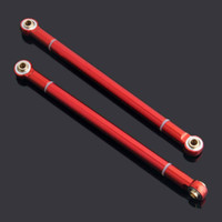 Wholesale Rock Rc - RC Red Aluminum Side Linkage (100mm) 2P For 1:10 SCX10 CC01 AX10 Rock Crawler