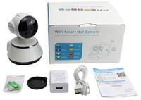 Wholesale Ptz Cmos Camera - V380 30day PTZ camera motion detection alarm baby monitor CAMERA HD720P IP Wifi Camera IR Cut P2P cctv Night Vision up 64GB Card