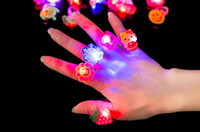 Wholesale Birthday Laser Lights - Novelty toys, dazzle colour laser LED finger light, suitable for party play light-emitting toys, nice birthday gift.