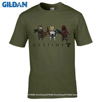 Wholesale Exclusive Cotton Shirts - GILDAN t shirt design patternMens Summer T Shirts Fashion Destiny Xbox One PC PS4 Shirts Exclusive Custom High Quality