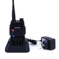 Wholesale Walkie Talkie Bao Feng - Baofeng BF-F9+ Walkie Talkie Dual Band Two Way Radio Bao Feng F9 Plus 128CH UHF VHF FM VOX Dual Display Radio Comunicador