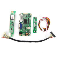 Atacado-For LTN170WP-L02 VGA + DVI M.RT2261 LCD / LED Controller Driver Board LVDS monitor Reuse 1680x1050 Laptop