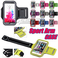 bolsas de telefone à prova d'água venda por atacado-Para Iphone 11 Pro Max Sports impermeáveis ​​Correr Caso Armband Correndo Titular saco Workout pounch Phone Case para Galaxy Note 10 PLUS Arm