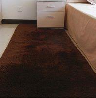 Wholesale Colorful Floor Mats - 80*160cm Fashion Carpet Bedroom Decorating Soft Floor Carpet Warm Colorful Living Room Floor Rugs Slip Resistant Mats