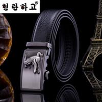 Wholesale Mens Casual Business Jeans - Fashion mens designer leather belts Business Jeans Automatic Buckle waist strap belts for men brand belts quality