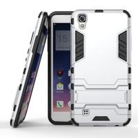 Wholesale Oppo Cases - FOR OPPO R9 R9 PLUS A59 R9S R9S PLUS A39 ZTE Grand x3 AXON 7 AXON 7 mini X4 Hybrid KickStand Anti Shock Defender Armor Case TPU+PC cover 10p