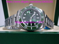 Wholesale High Quality Ceramic Watch - Three styles High Quality 116610 116610lv 114060 40mm sapphire Green Ceramic bezel Automatic Mens Watch Watches Original Box Papers