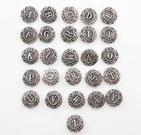 Wholesale Snap Necklace Clasp Plastic - 2016 Simple Ever Noosa Button Glass Plastic Metal Letter Snaps Chunk Press Button 18mm for DIY Bracelet Necklace