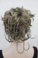 ingrosso bello capelli corti donna-trasporto libero bello affascinante nuovo caldo elegante Hivision ricci 14