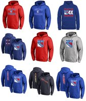 Wholesale Mat Kids - 2017 NHL New York Rangers 30 Henrik Lundqvist 27 Ryan McDonagh 36 Mats Zuccarello Name & Number hoodies for man women kid