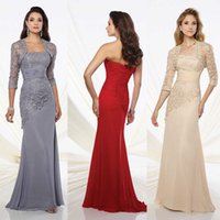length chiffon sleeve wedding dress prices - 2017 mother of the bride dresses two-piece chiffon and Venise lace dress set wedding guest dresses evening dresses