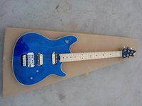 Wholesale Edward Van Halen - best china Musical Instruments New arrival Edward Van Halen Blue Custom Electric Guitar Free Shipping!!!!!
