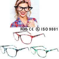 Wholesale China Eyewear Frame - 2016 china wholesale optical eyeglasses frame new fashion handmade acetate eyewear with ce and fda certification