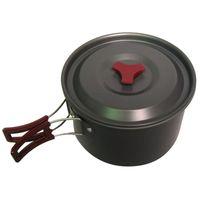 Wholesale Cooker Sizes - Outdoor equipment large size single set pan portable aluminum alloy field cooker single pot