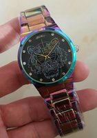 Wholesale Binger Watches - luxury Quartz Big Bang HOT automatic date luxury fashion men and women of the steel belt movement quartz clock watch The tiger 3 color KE NZ