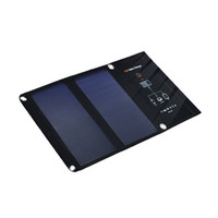 painéis solares dobráveis venda por atacado-5 v 15 w carregador de painel solar dobrável bateria solar portátil dupla porta usb carregador solar para iphone samsung celular tablet pc