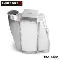 tansky intercooler al por mayor-TANSKY-Nuevo automóvil de almacenamiento Universal de aluminio Intercooler agua-aire de 12