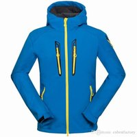 Wholesale Mens Outdoor Suit Coats - 2016 New Winter Mens Clothing SoftShell Fleece Warm Ski Down Coats Outdoor Mans Winter Brand Jackets Down Jacket High Quality Hunting Suits