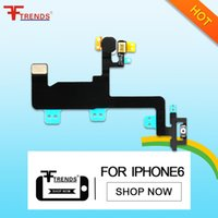 para iPhone 6 Power On Off Flex Cable Piezas de reparación de piezas de repuesto Botón de encendido Swith 4.7