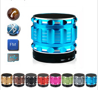 Wholesale Ipad Mini Hand - S28 Mini Bluetooth Speaker With Audio TF Card Music Player Hands-free With Mic HiFi Wireless Loudspeaker For Cell Phone Tablet iPhone iPad