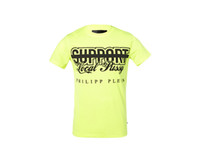 Wholesale Fluorescent T Shirts - Fluorescent green New fashion T shirt men brand-clothing short sleeve T-shirt male top quality elastic tops tees for men