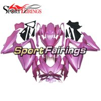 Wholesale Motorcycle Plastic Pink - Fairings Fit Suzuki GSXR600 750 K8 08 09 10 Year 2008 2009 2010 ABS Plastic Motorcycle Fairing Kit Bodywork Motorbike Cowling Fairings Pink