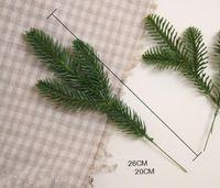 ingrosso alberi artificiali decorativi-Nuovi alberi artificiali di natale impianto di simulazione decorativa Accessori per la sistemazione dei fiori artificiali