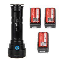 UK super bright led camping lantern - Super Bright 20000LM 14T6 LED Flashlight 14*CREE XM-L T6 Waterproof Bike Lantern Hunting Torch Light 18650 Battery Charger