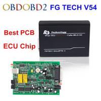 Wholesale Master Auto Tech - Newest FGTech V54 Galletto 4 Master Support BDM Full Function Fg Tech V54 Auto ECU Chip Tuning BDM OBD FG-TECH Free Ship