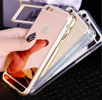 Wholesale Iphone Cases Offers - Special Offer Fashion Make-Up Mirror Soft Silicone TPU Back Case Cover Skin For iphone SE 5 5S 6 6S 7 7 plus
