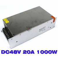 Wholesale Industry Lighting - DC18V 56A 1000W Power Supply Transformer Regulated High Power 110 220 V AC DC 18 V USP for Industry Mechanical Equipment Light