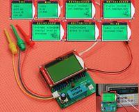 mètres esr achat en gros de-Gros-2016 Mega328 transistor testeur ESR fréquence LCR Diode Condensateur compteur PWM carré livraison gratuite