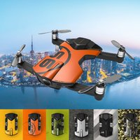 Wingsland S6 Pocket Selfie Drone WiFi FPV 4K UHD Telecamera Usa Evita Quadcopter con Searchlight BB pistola LED Board