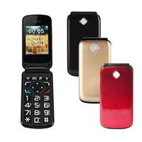 Wholesale Dual Sim Card Flip Phones - VKWORLD Diamond Z2 Flip Phone 2.4 inch Unlocked Mobile Phone with FM MP3 Dual SIM FM Big Keypad Big Fonts