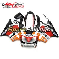 Full Motorcycle Plastics Kit de carénage à injection ABS pour Honda CBR600 F4i 2004-2007 Année 04 05 06 07 Carénages Repsol Black Red Orange Cowling