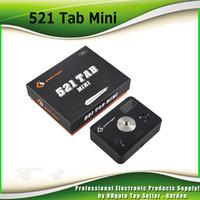 Wholesale Levels Wholesale - Original Geekvape 521 Tab Mini Coil Master Compact size Added Battery Level Indicator USB Port Charging 100% genuine geek vape 2230009