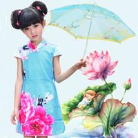 новые пароли оптовых-Мини китайский стиль детские игрушки кружева зонтик девушка зонтик ручной работы блестки ткань зонтик вышивка зонтик подарок ZA1287