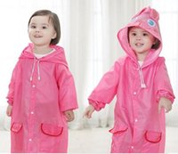 Poncho Impermeável Novo Kids Rain Coat Para crianças Raincoat Rainwear / Rainsuit, Kids boy girl Raincoat Estilo Animal