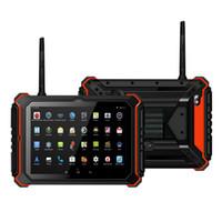 Wholesale Waterproof Phone China - Original 8inch IP68 waterproof Rugged tablet PC RuggedPad T8202 MTK8382 quad core 1GB+16GB 3G android 4.4 Walkie Talkie PTT UHF NFC 14000mAh