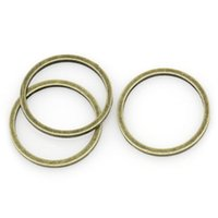 """Wholesale Antique Copper Jump Rings - Copper Closed Soldered Jump Rings Round Antique Bronze 12.0mm( 4 8"""") Dia, 9 PCs 2015 new"""
