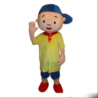Wholesale Caillou Adult Costume - 2018 hot sale Caillou Mascot costume Adult size Caillou Mascot costume Free shipping