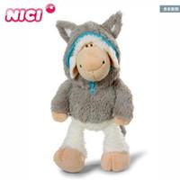 animais venda por atacado-35 Cm Super Bonito Stuffed Animal Nici Ovelhas Na Lobo 's Boneca Ovelha Lobo Brinquedos De Pelúcia Para O Presente De Aniversário 1 Pcs