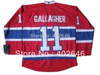 Wholesale Read Chart - 2013 NEW! Ice Hockey Montreal #11 Brendan Gallagher red jerseys, please read size chart before you select your sizes