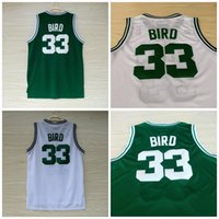 Wholesale College Basketball Usa - Mens1992 USA Dream Team Jersey 33 Larry Bird Throwback Indiana State Sycamores College Basketball Jerseys All Stiched by probowl