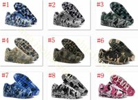 Wholesale Champagne C - 2016 Retro 90 VT Running Shoes Men And Women Camouflage Air 90 Camo Sports Shoes Trainers Outdoor Athletic Sneakers Eur Size 36-46